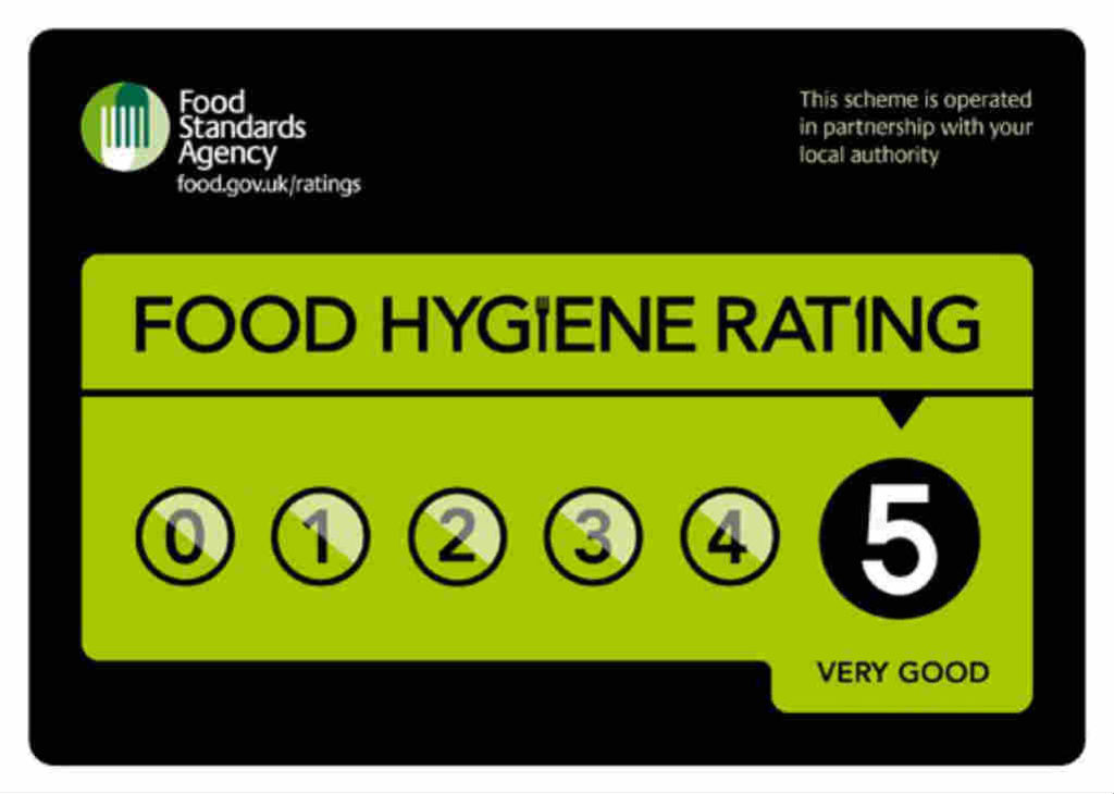 Arrow Valley Hog Roast Food Hygiene Rating 5